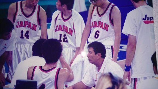 知的障害バスケットボールの日本代表チームを指導する小川直樹ヘッドコーチ