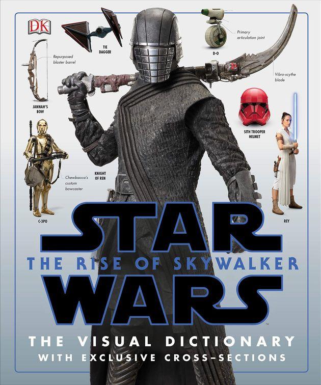 「ライ・リー・ハウエル」の名前が掲載された『スカイウォーカーの夜明け』のビジュアル辞典