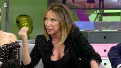 A María Patiño se le hincha la vena y estalla en 'Sálvame' contra Iñaki Urdangarin: