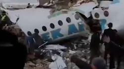 Al menos 15 muertos al estrellarse un avión con 100 pasajeros a bordo en