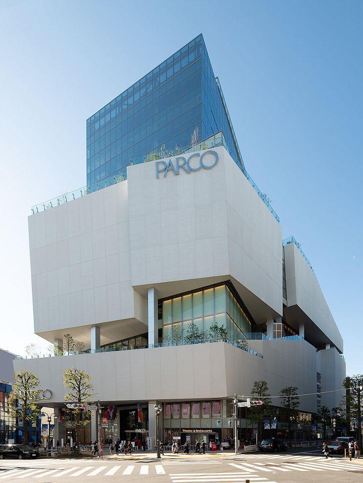 渋谷PARCOの外観