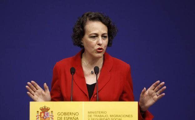 La ministra de Trabajo, Migraciones y Seguridad Social, Magdalena