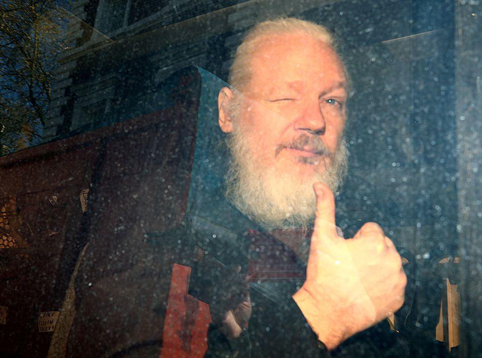 Ο ιδρυτής του WikiLeaks, Τζούλιαν...