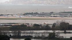 L'aéroport d'Ajaccio, fermé à cause des intempéries, rouvrira ce