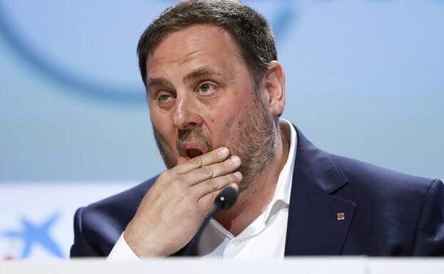 El presidente de ERC, Oriol