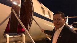 Mourão, um vice no avião: foram 50 viagens no 1º ano de