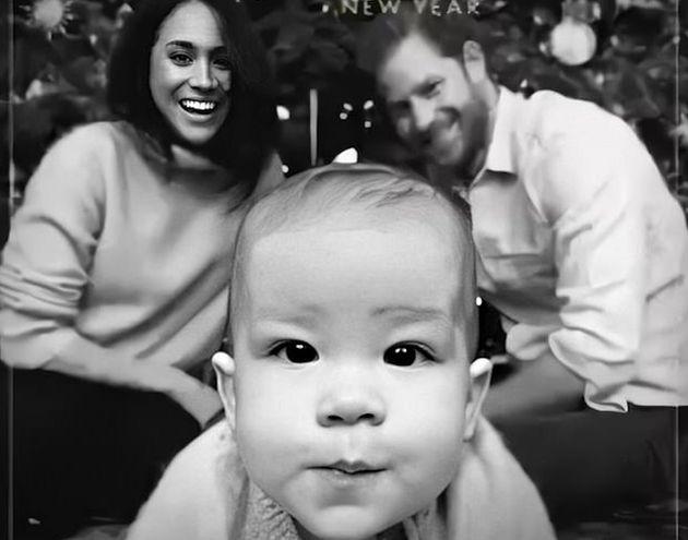 Felicitación de Meghan Markle y el príncipe