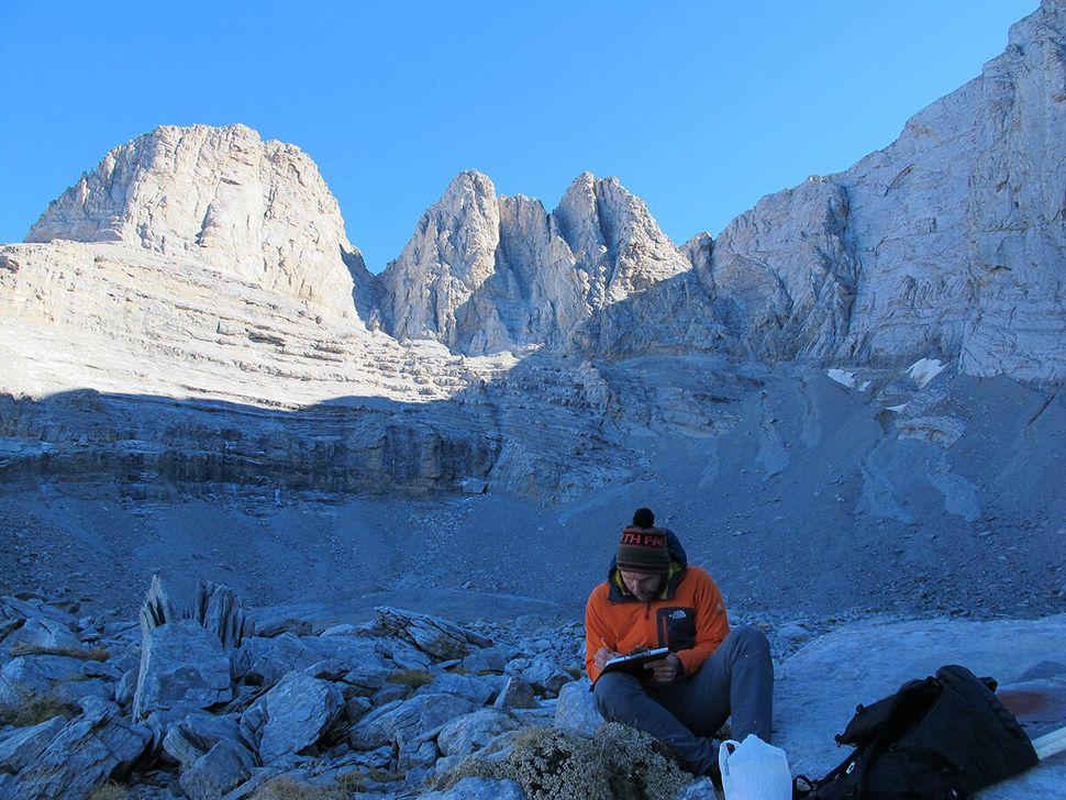 Στην τελική θέση που βρισκόταν ο παγετώνας Μεγάλα Καζάνια,περίπου 2.800 χρόνια πριν από το 2020...