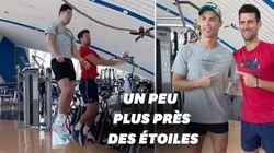 Ronaldo livre à Djokovic les secrets de ses sauts
