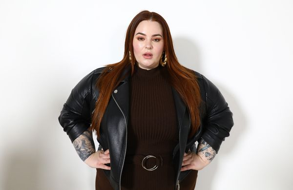 """The body-positive model and activist <a href=""""//www.huffpost.com/entry/model-tess-holliday-comes-out-as-pansexual_n_5d1"""