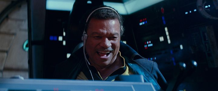"Lando is the man-do. (Not <a href=""https://www.huffpost.com/topic/the-mandalorian"" target=""_blank"">the Mando</a>, though.)"