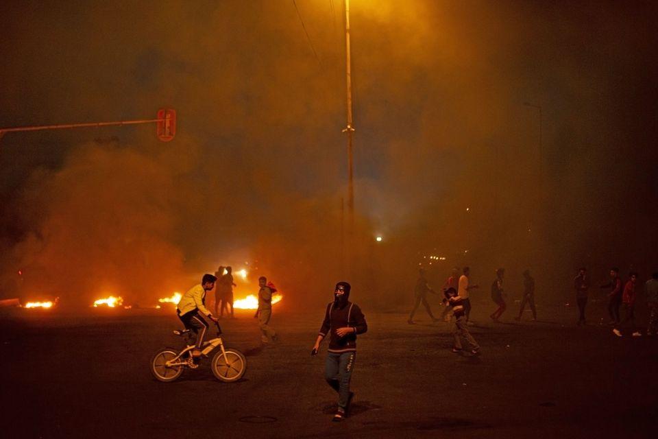 αντικυβερνητικές διαδηλώσεις...