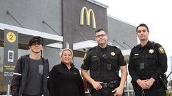 학대받은 여성을 도운 맥도날드 직원들의 사연이