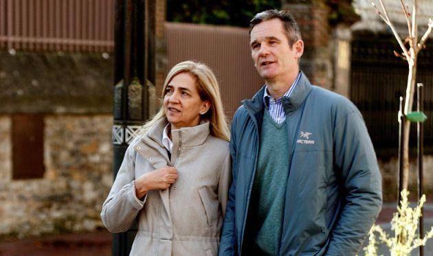 La Infanta Cristina e Iñaki Urdangarin, de paseo por