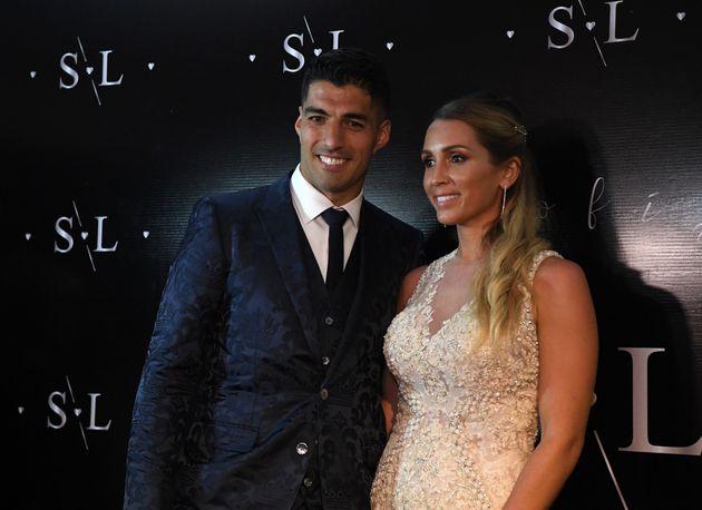 Luis Suárez renueva votos con su mujer: así fueron los