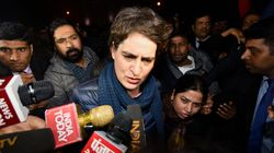 CAA: Priyanka Gandhi Manhandled By UP Police On Way To Activist's