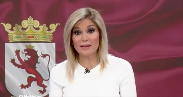 Sandra Golpe, presentadora de 'Antena 3