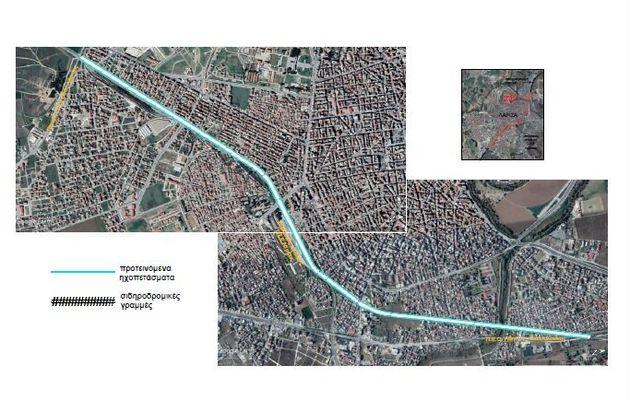Περιφέρεια Θεσσαλίας: ηχοπετάσματα 10 χλμ. για το τρένο στη