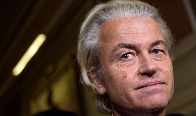 Geert Wilders, ici le 7 septembre en Italie, a annoncé qu'il allait relancer son concours de caricatures...