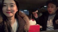 정준이 '3달 공개연애'의 행복한 심경을 공개했다