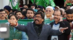 Opposition's Show Of Unity At Hemant Soren's Swearing-In