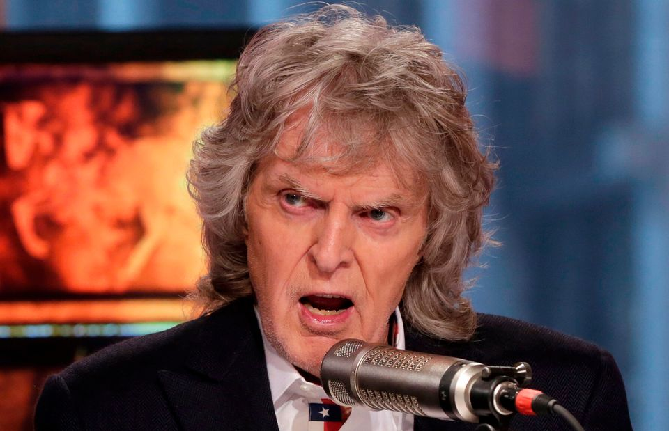 Veteran radio broadcaster and known racist Don Imus died on Dec. 27, 2019. He was 79.