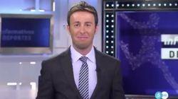El comentado gesto de Matías Prats ('Informativos Telecinco') tras dar paso a 'Sábado
