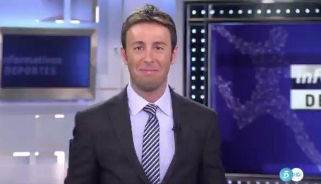 Matías Prats, presentador de 'Informativos