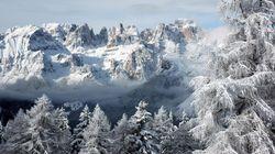 Valanga sulle Dolomiti: un