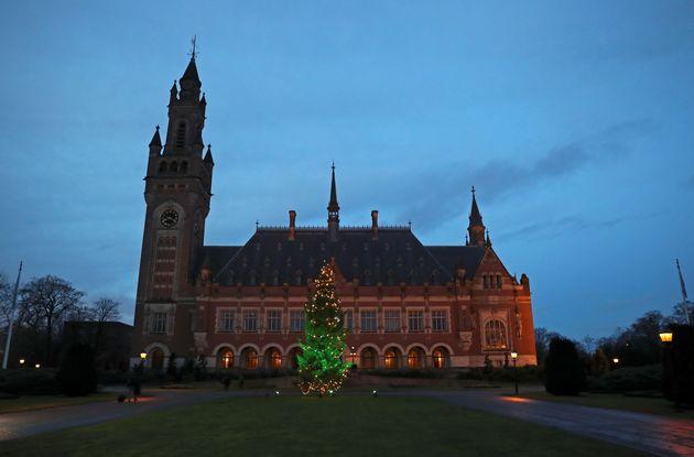 Το Διεθνές Δικαστήριο της Χάγης, σε φωτογραφικό στιγμιότυπο στις 11 Δεκεμβρίου 2019. REUTERS/Yves Herman
