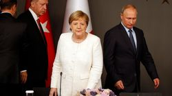 Τηλεφωνική επικοινωνία Μέρκελ με Πούτιν και Ερντογάν για τη