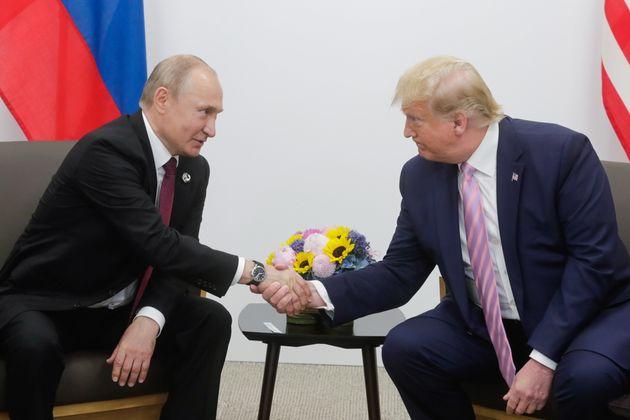Poutine remercie Trump pour des informations ayant permis de déjouer des attentats (photo prise...