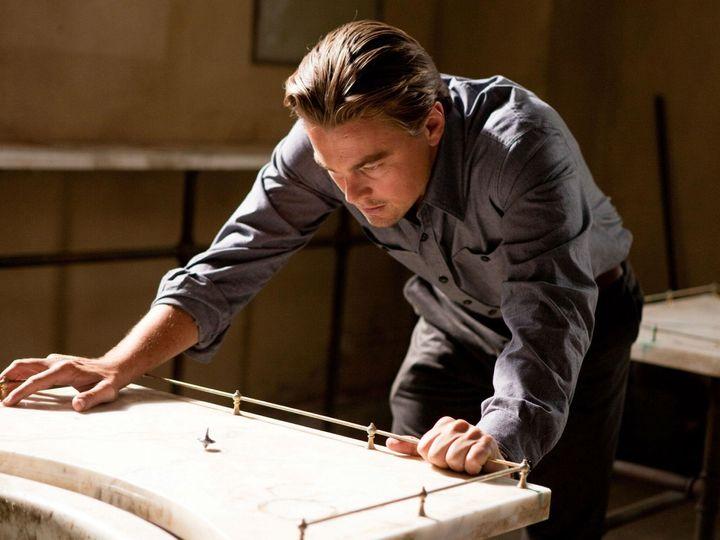 """Leonardo DiCaprio in """"Inception"""""""