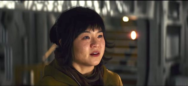 Kelly Marie Tran as Rose Tico in Star
