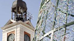 Madrid se prepara para las campanadas: 'videomapping' y cortes de