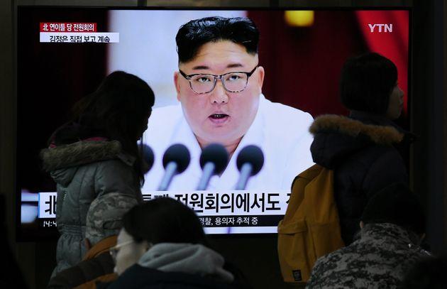 Kim Jong-un préside en cette fin d'année une session plénière du Parti des...