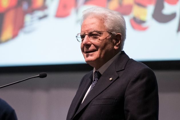 Sergio Mattarella, President Of The Italian