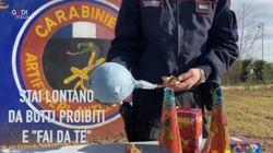 I consigli dei Carabinieri per non rovinarsi il Capodanno con i botti illegali