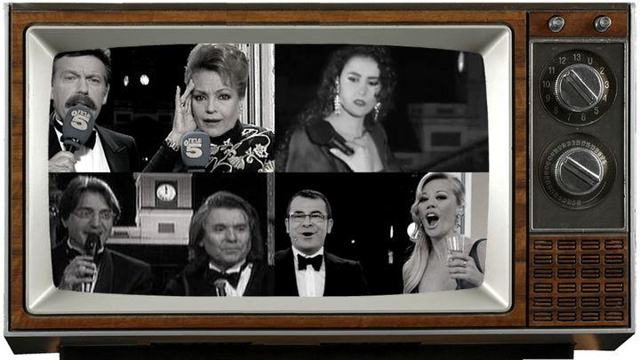 Pifias en las campanadas en Telecinco, Antena 3 o TVE.