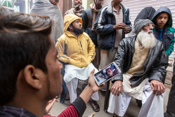 Families in Uttar Pradesh grieve the deaths of their sons killed when the Uttar Pradesh police opened fire on a demonstration.
