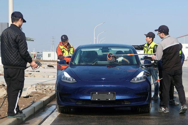 Εδώ το Tesla Model 3 κινεζικής...
