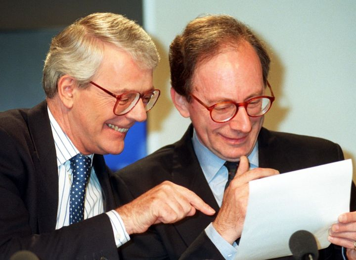 <strong>Prime minister John Major and foreign secretary Malcolm Rifkind.</strong>