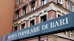 Popolare Bari, da Fondo Interbancario subito 310 milioni di