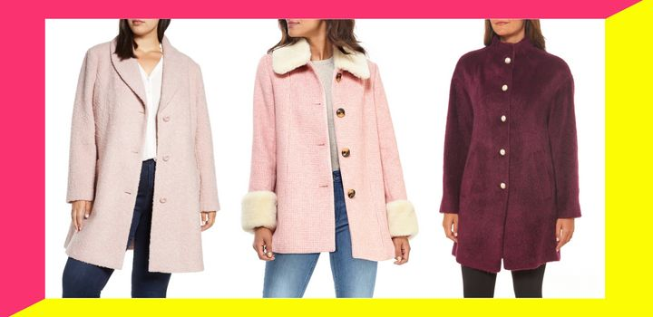 You'll look super stylish during the next cold spell with these winter coats that are on sale right now at Nordstrom.