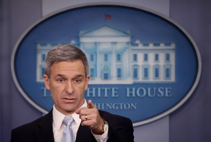 DHS acting Deputy Secretary Ken Cuccinelli implied that a U.S. citizen accused of stabbing five Hasidic Jews did so because h