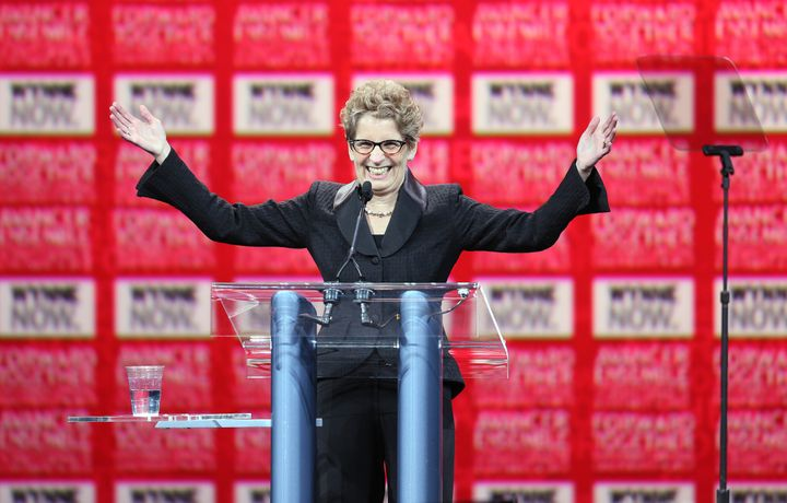 Kathleen Wynne was leader of Ontario's Liberals from 2013 to 2018.