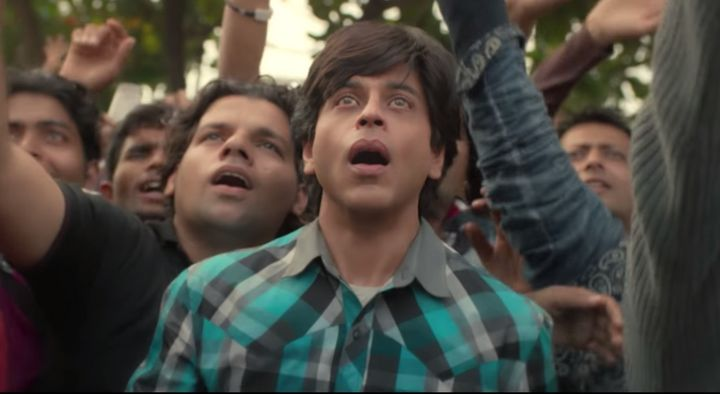 A still from Fan