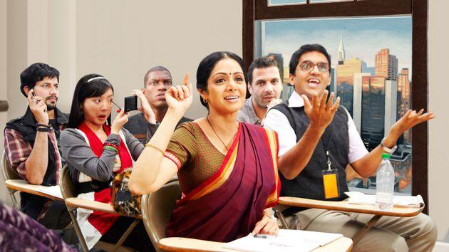 Sridevi in English