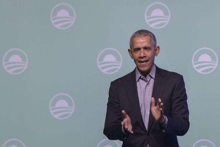 Barack Obama, ici en Malaisie le 13 décembre, a dévoilé sa liste de livres et films préférés en 2019.