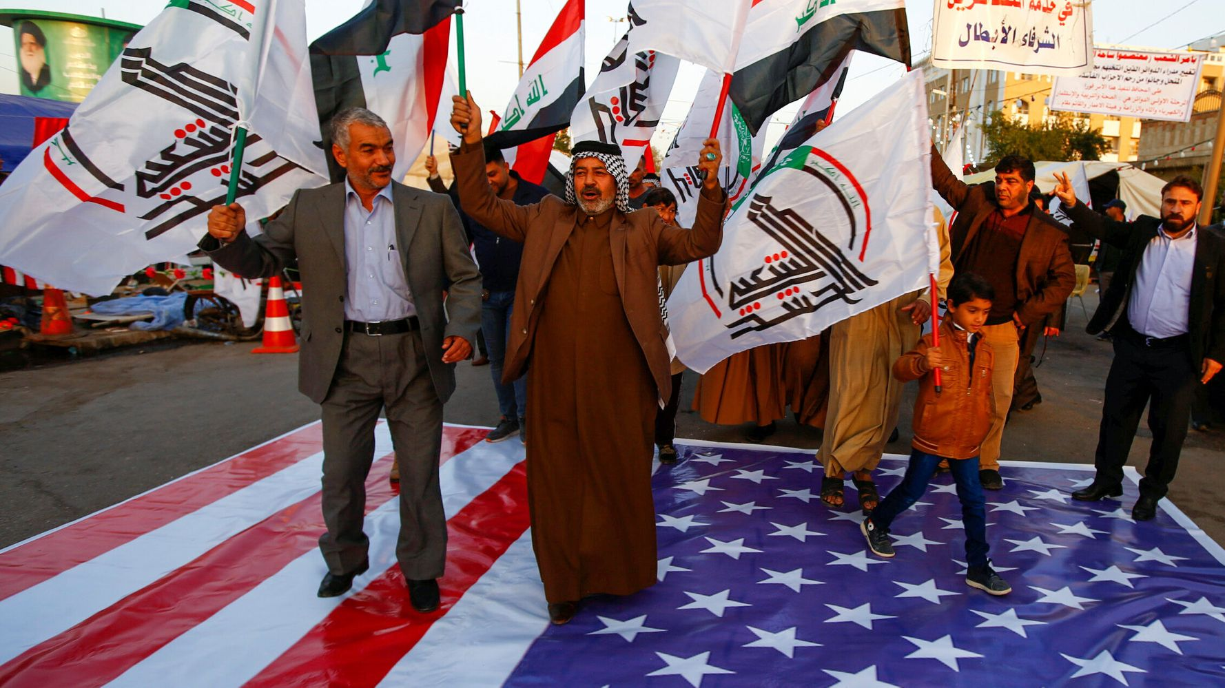 Westlake Legal Group 5e0aa54424000041245a4972 Iraq Condemns U.S. Air Strikes As Unacceptable And Dangerous
